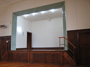 Vogelmorn Hall Stage
